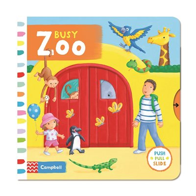 Book cover for Busy Zoo